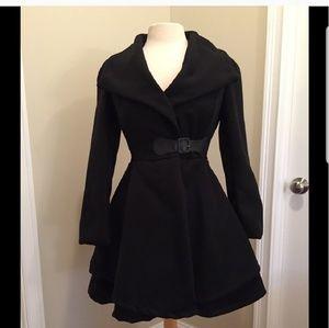 Jackets & Blazers - Peplum coat